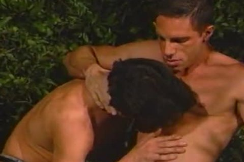 Jackson And Allen have a enjoyment twink Love In The Trees
