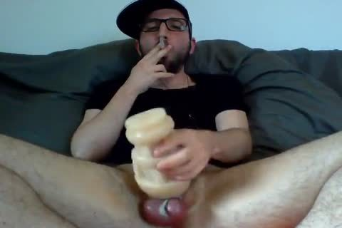 another Fleshlight nail Session With A gigantic goo flow At The End.