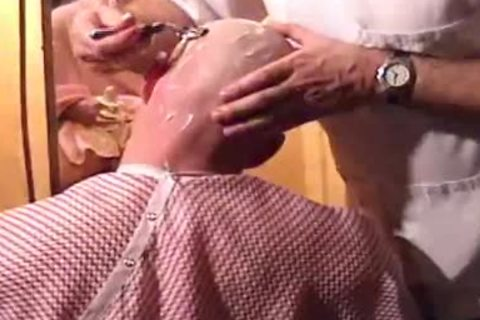 This Harder Treats His Client Well  oral job Shave Bald Sex Her Off II