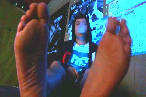 14 Hours Of video Available Feel Free To Skype Me.  SkaterBoyFeet