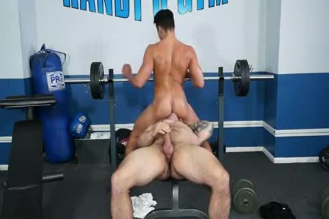 beautiful Sex In Gym