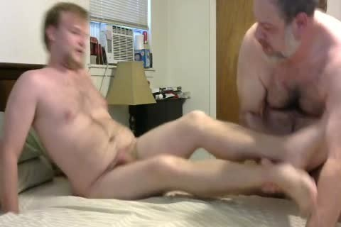 In A Last Minute Invite, WngXStpXCub Comes Over And We Enjoying blowing Each Other, pooper banging His pooper, giving a kiss Etc.  In This clip Is The First Time The Cub Has Taken A 10-Pounder Up His pooper And that man Handles It Like A Pornstar.  A