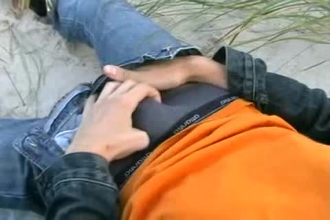 teen jerking off Outdoor