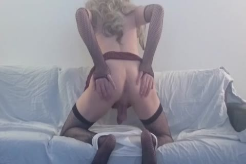 Solo Sissy Amber Emily Watching Porn And pounding Herself