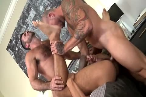 Muscle threesome charming nail