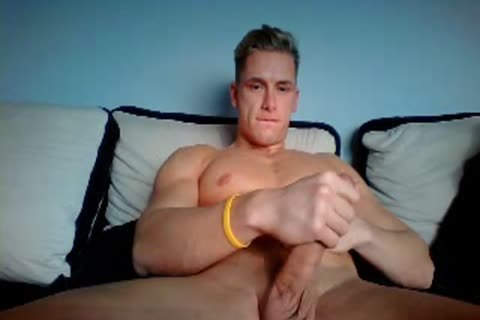 German handsome chap With humongous Hard pecker On cam