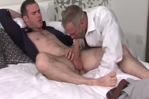 Silver Fox Dallas Steele And Clean Cut knob Matthew Bosch cum jointly