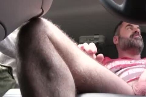 sleazy dad pounds His Step Son In A Car - FAMI