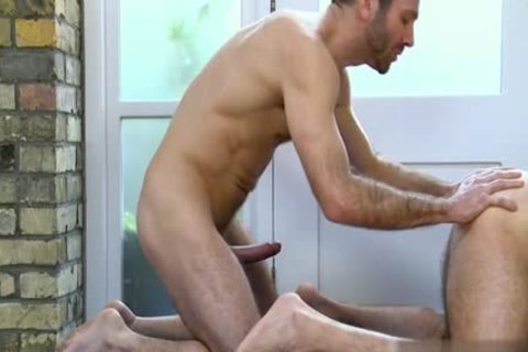large knob homosexual a bit of arse With Massage