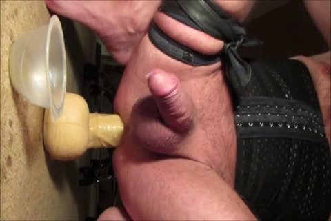 Crossdresser Balls unfathomable 13 Inch humongous sex tool Prostate Milking