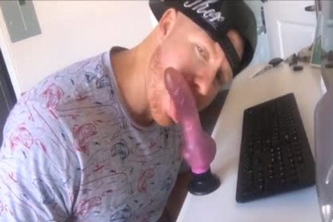 TJ stroking With Dildos