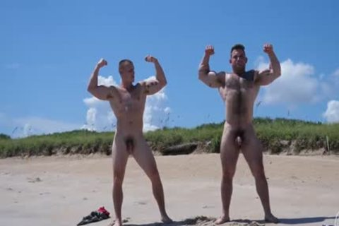 undressed Muscle Beach - Jack And Jason
