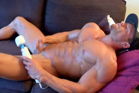 Relaxing At Home With A special dildo