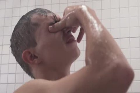 MormonBoyz - concupiscent Priest nails A chap's Arsehole In The Shower