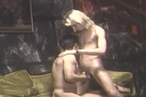 drilled by skinny blond lad